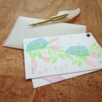 【シーン別】胡蝶蘭ギフトのメッセージカード書き方