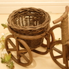 手作り鉢カバーで見慣れた植物がおしゃれに変身!