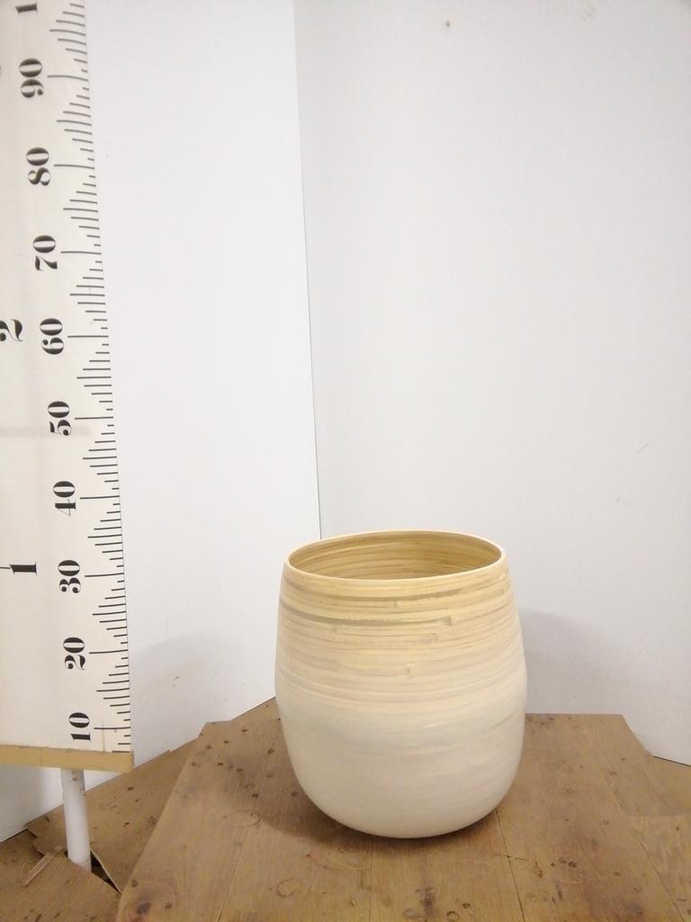 鉢カバー  ササール 8号鉢用 白