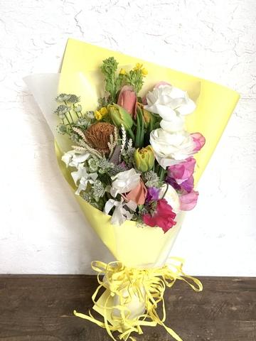 花束 お任せ 季節のお任せ S 【当日発送可】