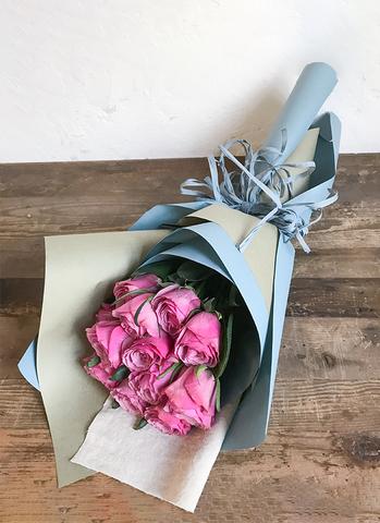 バラ 花束 パープル S (12本入)