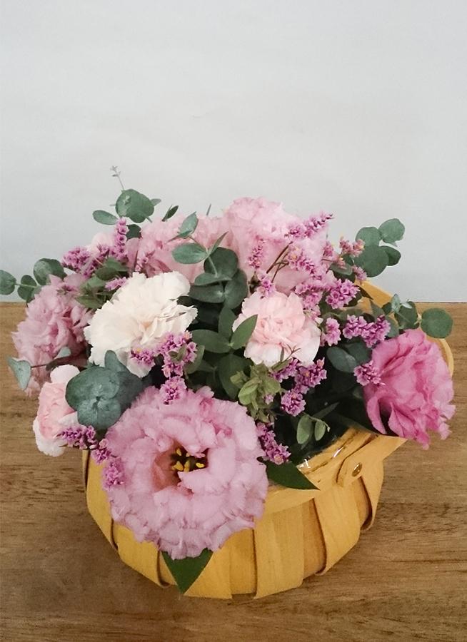 トルコキキョウ アレンジメント ピンク S