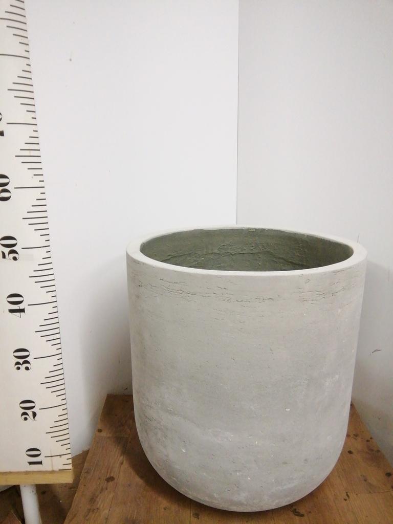 鉢カバー  エルバ 10号鉢用 白 #ミュールミル LA-002LWh