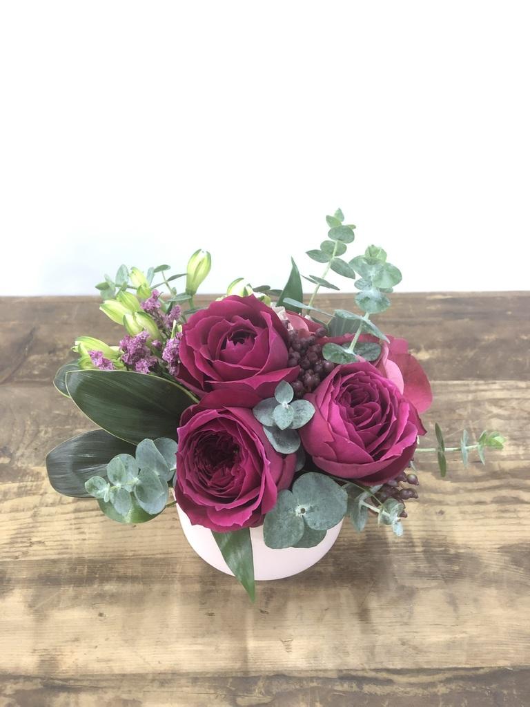 バラ アレンジメント ピンク SS【送料無料】