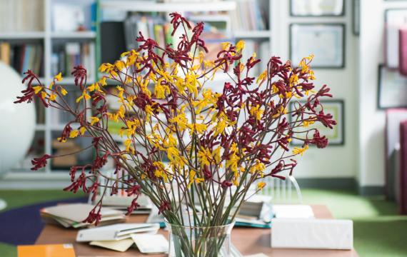 定額制の装花