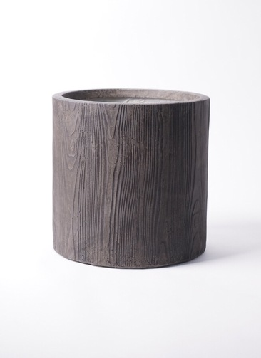 鉢カバー  アルファ シリンダープランター ウッド 8号鉢用