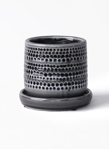 鉢カバー  ソルドットポット 4号鉢用 ブラック
