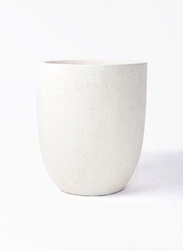鉢カバー  フォリオアルトエッグ 10号鉢用 クリーム #GREENPOT EB-SL226043CR