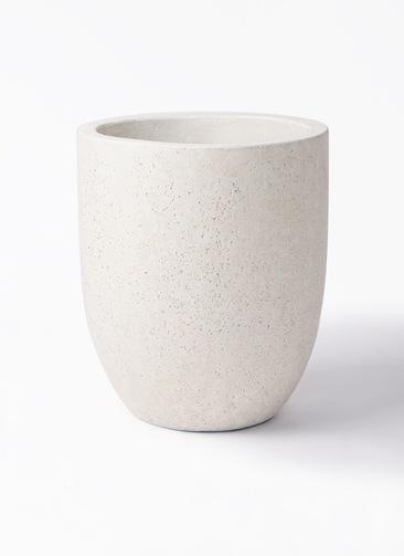 鉢カバー  フォリオアルトエッグ 8号鉢用 クリーム #GREENPOT EB-SL226031CR