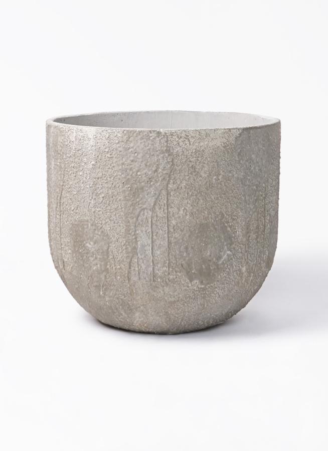 鉢カバー  バル ユーポット 10号鉢用 アンティークセメント