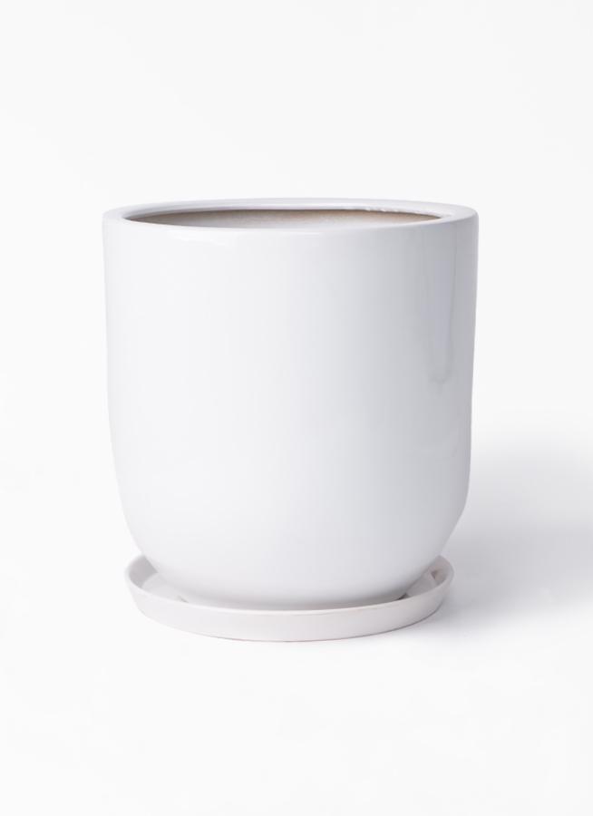 鉢カバー  アファール 10号鉢用 白 #ミュールミル S045LWh