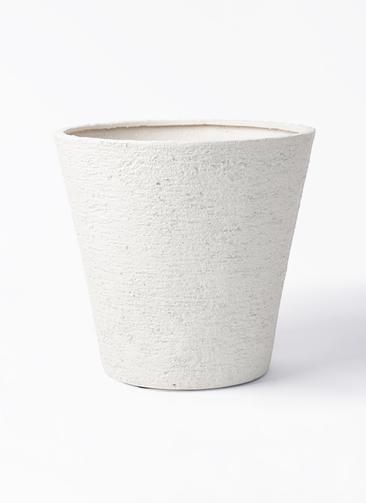 鉢カバー  ビアスソリッド 10号鉢用 アイボリー #GREENPOT EB-PL240043IV