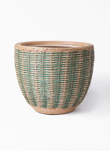 鉢カバー  マラッカ 10号鉢用 ダイドグリーン