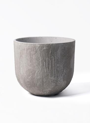 鉢カバー バル ユーポット  8号鉢用 アンティークセメント #KONTON VL-U01C35E