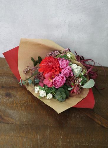 チューリップ 花束 ピンク SS