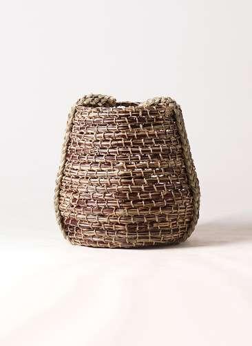 鉢カバー  リゲル 8号鉢用 茶 #ミュールミル VL001SBr