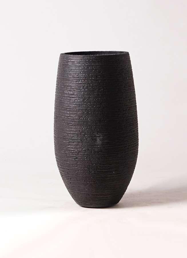 鉢カバー  フォンティーヌトール 8号鉢用 黒 #ミュールミル TL032-1Bk