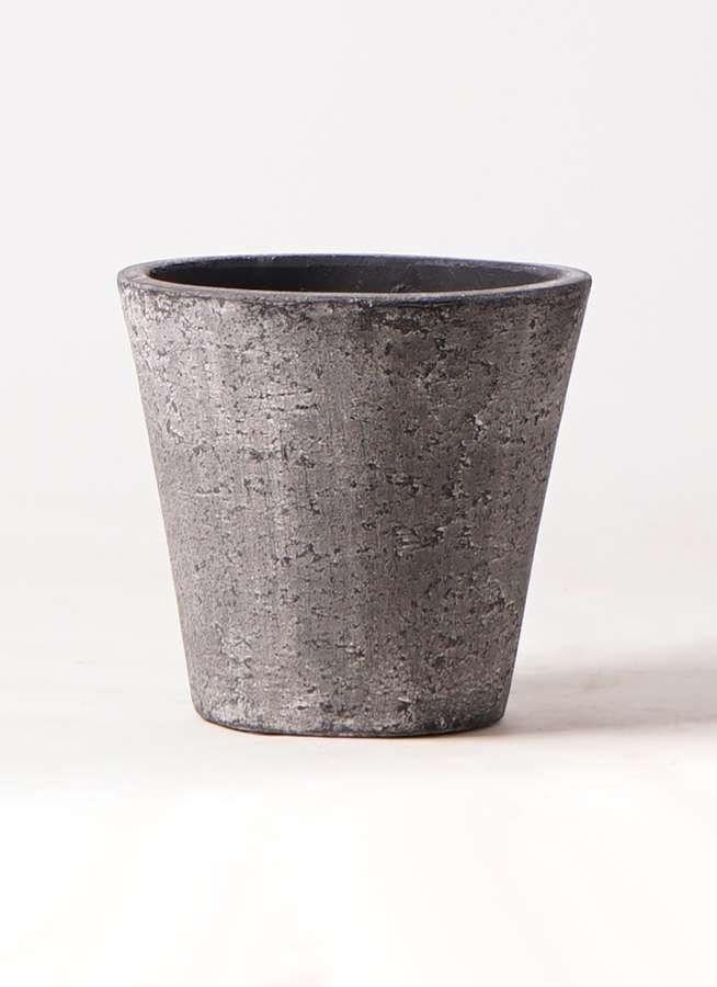 鉢カバー  フォリオソリッド 7号鉢用 ブラックウォッシュ