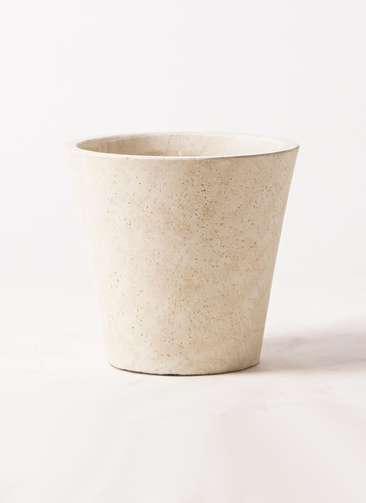 鉢カバー  フォリオソリッド 7号鉢用 クリーム #GREENPOT EB-SL227031CR
