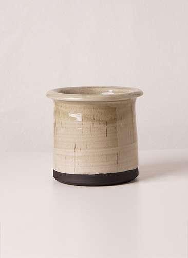 鉢カバー  Antique Terracotta(アンティークテラコッタ) グレイ 3号 #stem c2357