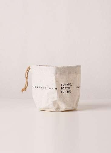 鉢カバー  Warp Sack(ラップサック) 3号 #stem B7200