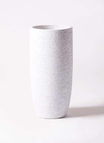 鉢カバー Eco Stone(エコストーン) トールタイプ6号鉢用 white #stem F1810