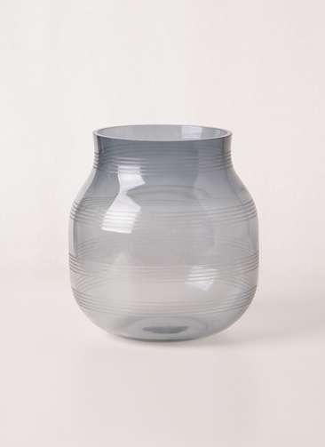Omaggio (オマジオ) グラスベース S スチールブルー #Kahler(ケーラー) 16102