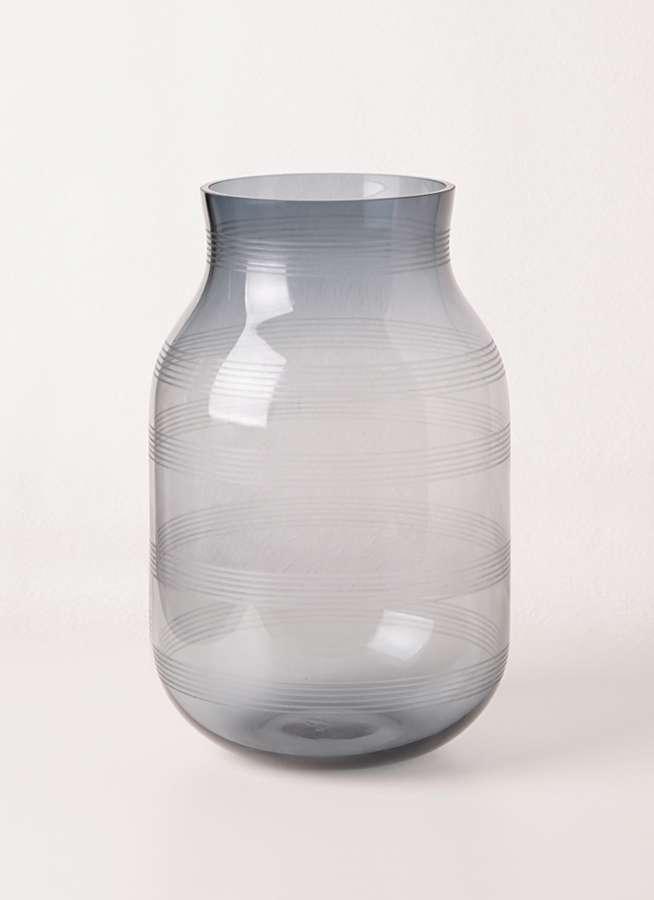 Omaggio (オマジオ) グラスベース L スチールブルー #Kahler(ケーラー) 16105