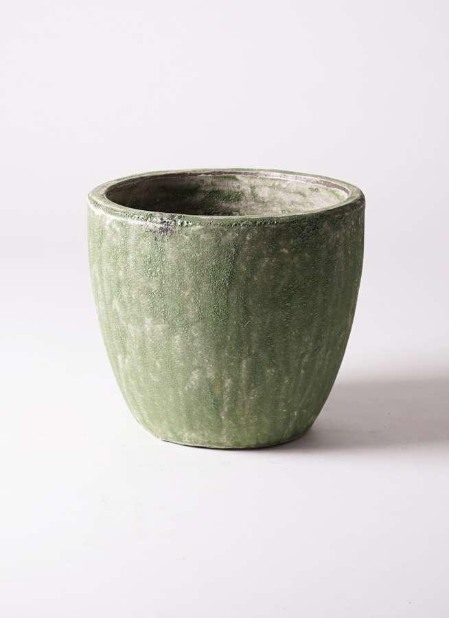 鉢カバー  アビスソニア ミドル 8号鉢用 緑