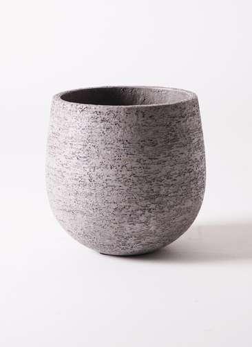 鉢カバー Eco Stone(エコストーン) 6号鉢用 Gray #stem F1805