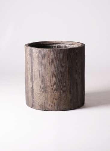 鉢カバー アルファ シリンダープランター ウッド 10号鉢用 #KONTON FM-003D45E