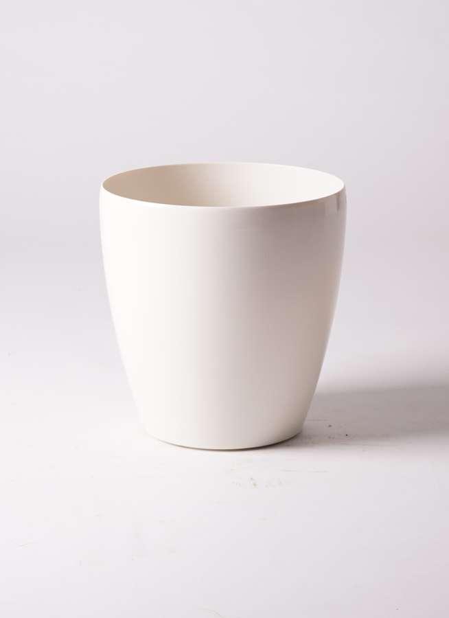 鉢カバー  ラスターポット 8号鉢用 white