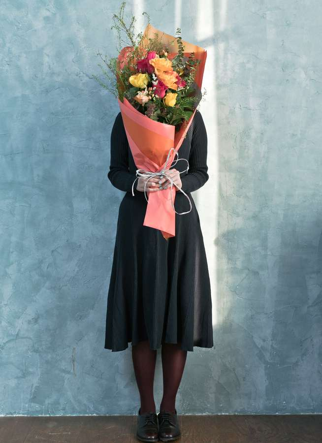 バラ 花束 ミックス L スタンダード
