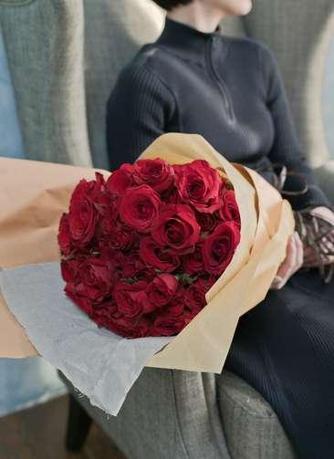 バラ 花束 レッド L (50本入)