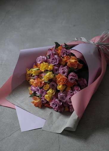 バラ 花束 ミックス L  (50本入り)