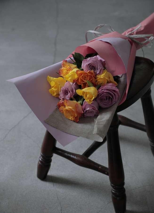 バラ 花束 ミックス S  (12本入り)
