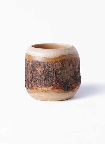 鉢カバー  Mango Wood(マンゴーウッド) 3号