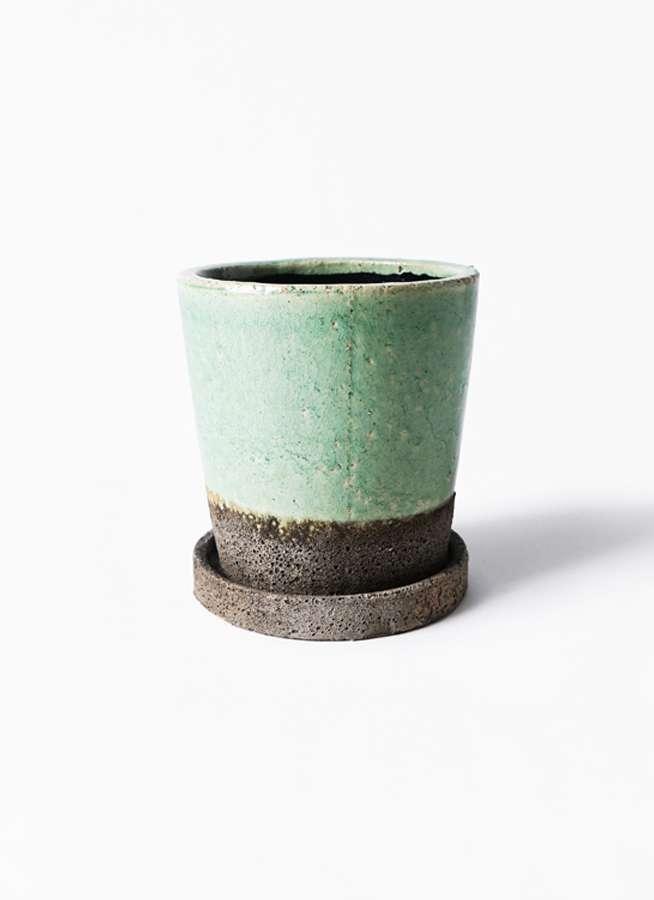 鉢カバー  ヴィフポット ミントグリーン 3号 #GREENPOT CP-MG16057B