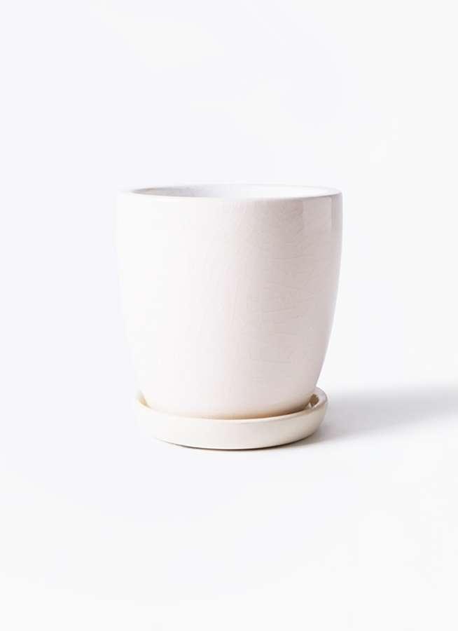 鉢カバー  Austere(アステア) トール ホワイト 4号 #KONTON AT-002W04P