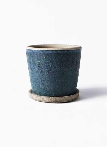 鉢カバー Favor Pot(フェイバーポット) ブルー 3号 #stem C7312