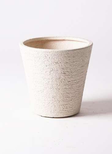 鉢カバー ビアスソリッド 8号鉢用 白 #GREENPOT EB-PL240031IV