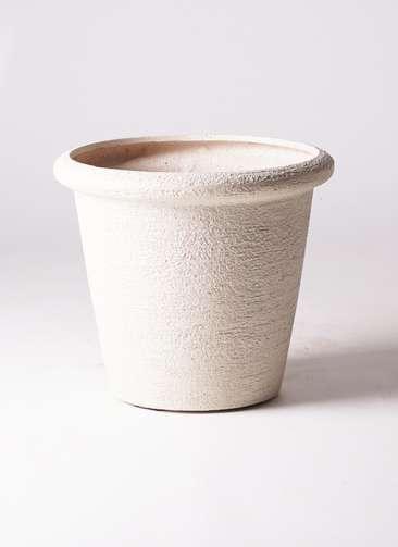 鉢カバー  ビアスリムス 10号鉢用 白 #GREENPOT EB-PL241046IV