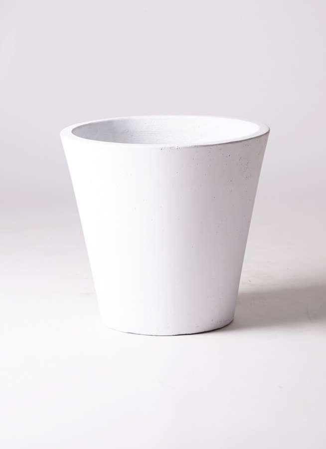 鉢カバー  フォリオソリッド 10号鉢用 白
