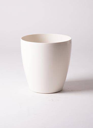 鉢カバー ラスターポット 7号鉢用 white #アップルウェア 265型