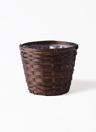 鉢カバー  竹バスケット 5号鉢用
