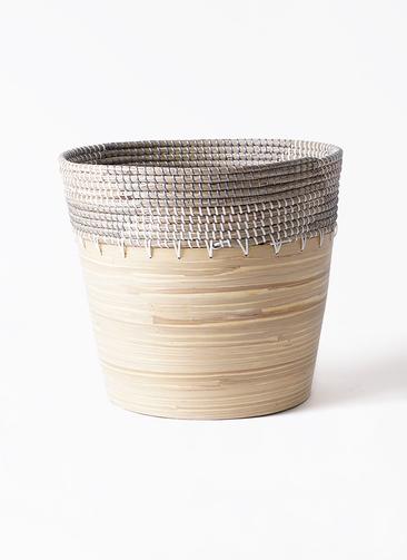 鉢カバー  アルマ コニック 10号鉢用 白