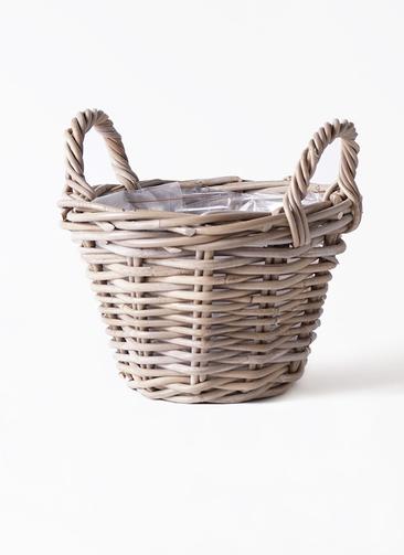 鉢カバー  モンデリックハンドルバスケット  5号鉢用