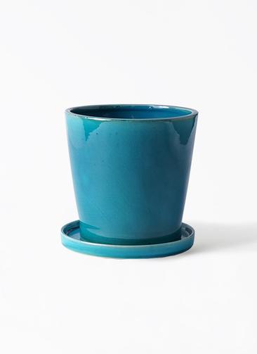 鉢カバー  ベラ 5号鉢用 ブルー