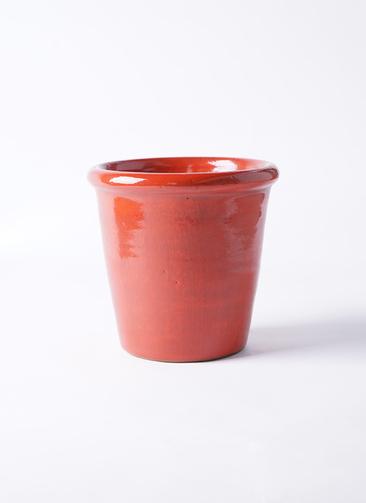 鉢カバー  Antique Terra Cotta (アンティークテラコッタ) 5号鉢用 Red #stem C9382
