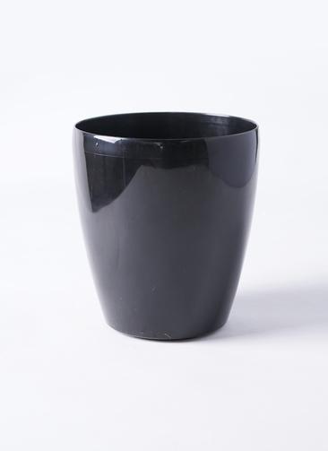 鉢カバー  ラスターポット 5号鉢用 ブラック #raster-pot-black-1 185型